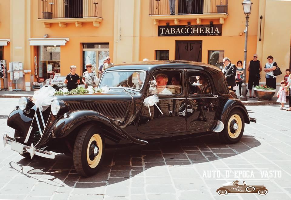 Auto d'epoca Vasto noleggio matrimonio wedding (CH) Abruzzo